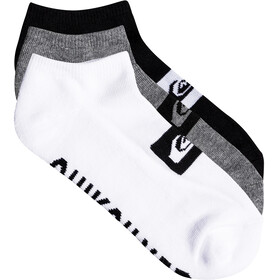 Quiksilver Ankle Socks 3 Pack Assorted
